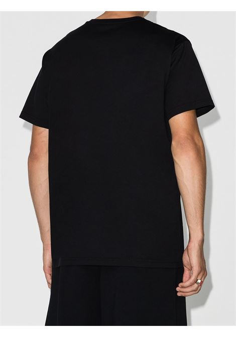 T-shirt nera con stampa multicolor Givenchy GIVENCHY | T-shirt | BM70YQ3002001