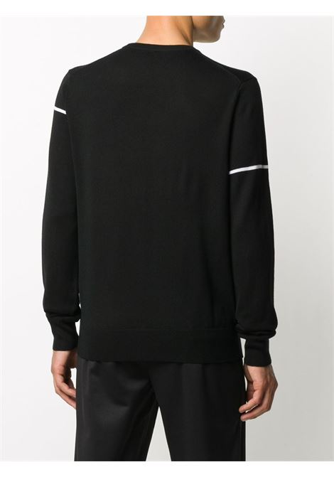 black and white wool Givenchy white embroidered logo jumper GIVENCHY |  | BM90B4404X004