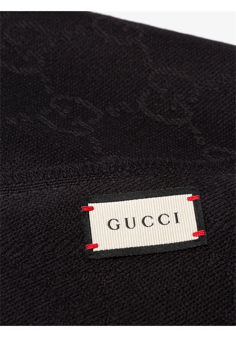 black wool GG Gucci Jacquard pattern  GUCCI |  | 133483-3G2001000