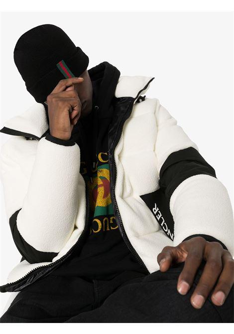 capellino nero in misto lana e cotone con logo Gucci Web GUCCI | Cappelli | 452398-4G4981000