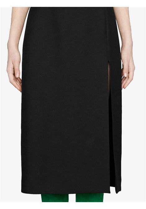 black high waist silk-wool blend skirt  GUCCI |  | 623173-ZAD881000