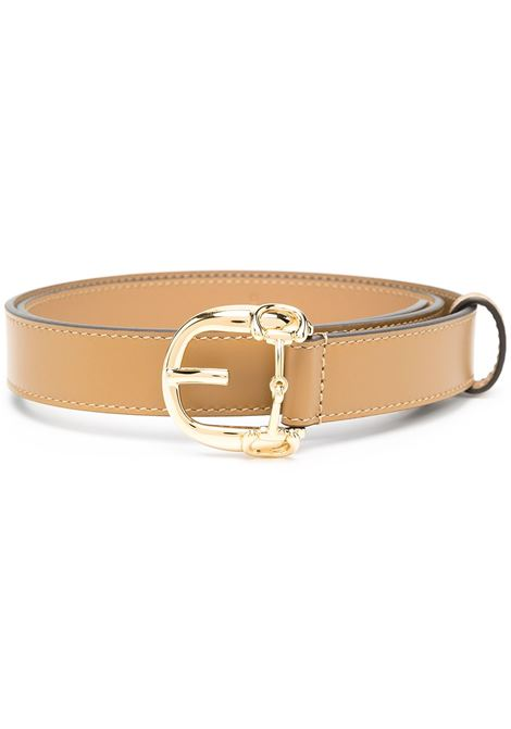 beige calf leather 2,5 Gucci Horsebit buckle leather belt  GUCCI |  | 633125-BGH0G2621