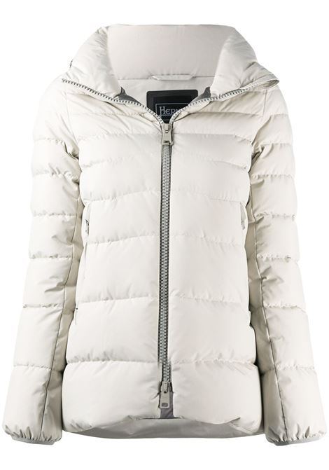 White goose feather down blend detachable-hood padded jacket HERNO |  | PI079DL-111061300
