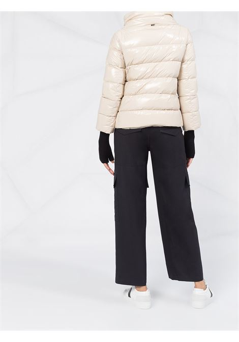 Beige feather down 1985 puffer jacket featuring funnel neck HERNO |  | PI0837D-122201985