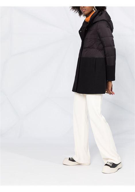 Piumino nero imbottito con cappuccio HERNO | Piumini | PI1199D-396019300