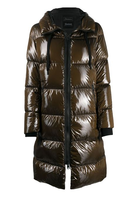 Brown high-shine down-feather coat  HERNO |  | PI122DL-123458158