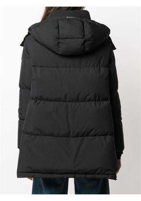 Black oversized puffer jacket featuring funnel neck HERNO |  | PI128DL-111069300