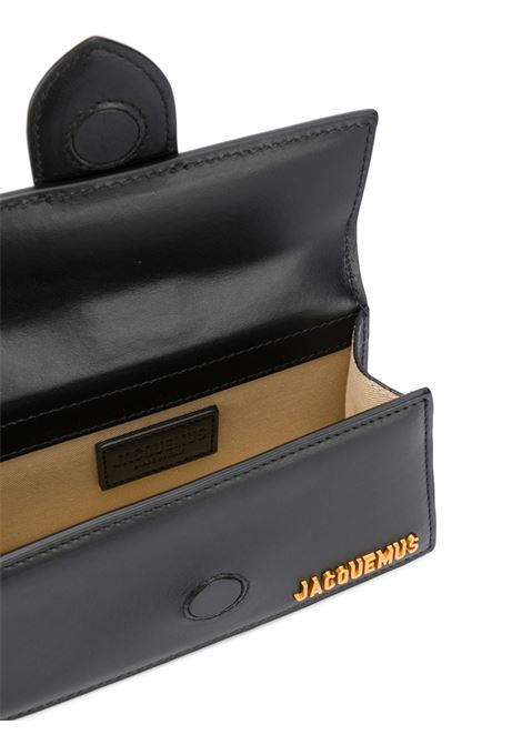 Black cow leather Le Bambino mini bag   JACQUEMUS |  | 203BA06-300990