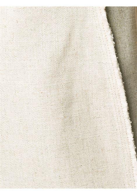 Abito beige con dettagli sulle cuciture a pannelli con spalline sottili JACQUEMUS | Abiti | 203DR06-124140
