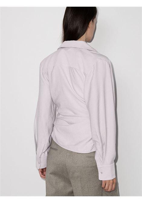 Lilac Le Bahia draped blouse  JACQUEMUS |  | 203SH02-108630
