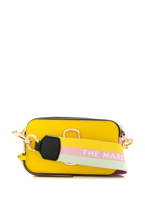 Borsa The Snapshot in pelle di vitello multicolore gialla e rosa con tracolla staccabile e regolabile MARC JACOBS | Borse a tracolla | M0012007756