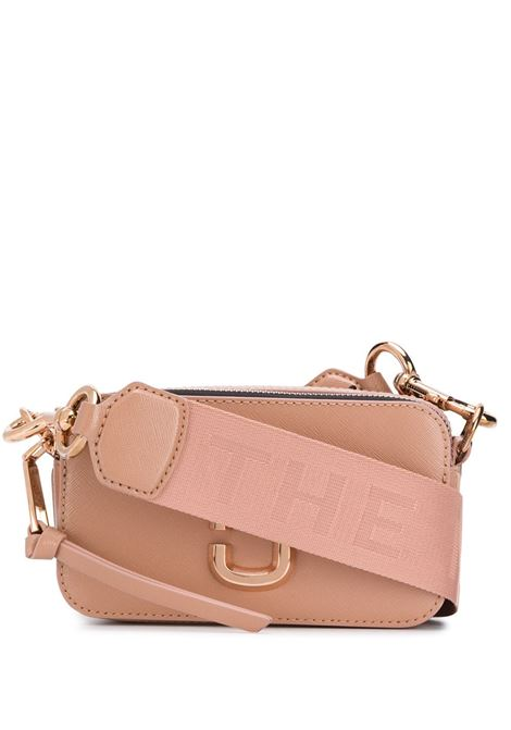 Sunkissed pink leather The Snapshot bag  featuring Marc Jacobs engraved logo MARC JACOBS |  | M0014867259