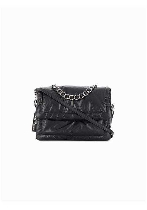 Black leather The Pillow shoulder bag  featuring  front flap closure MARC JACOBS |  | M0015416001