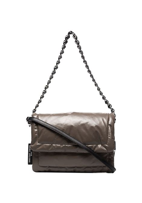 Borsa a tracolla The Pillow in tessuto grigio con finitura increspata MARC JACOBS | Borse a tracolla | M0015416214
