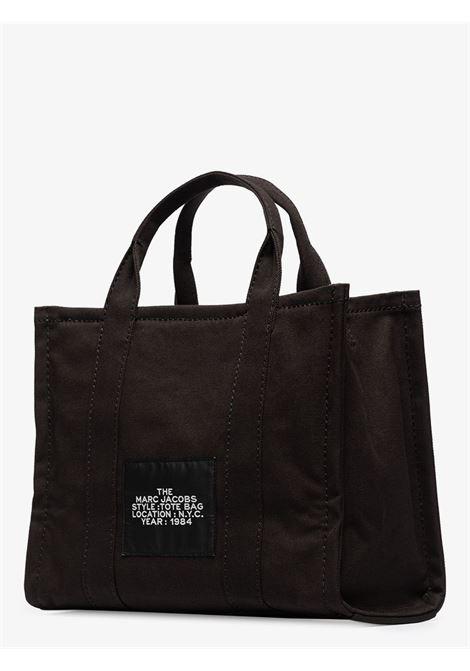 borsa tote The Tote Bag in cotone nero piccola MARC JACOBS | Tote | M0016161001