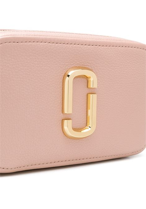 Blush pink cow leather The Softshot 21 cross body camera bag featuring a front Marc Jaacobs logo  MARC JACOBS |  | M0016484684