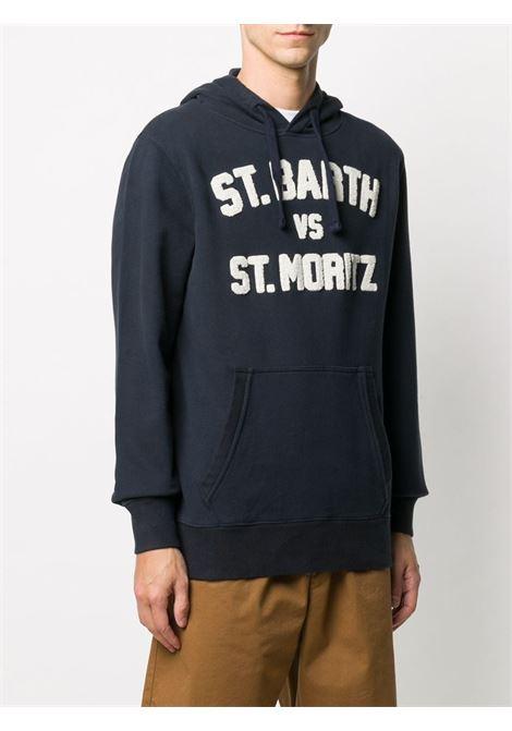 Navy blue cotton St Bath vs St Moritz hoodie  MC2 |  | TRIBECA-BARTH MORI61