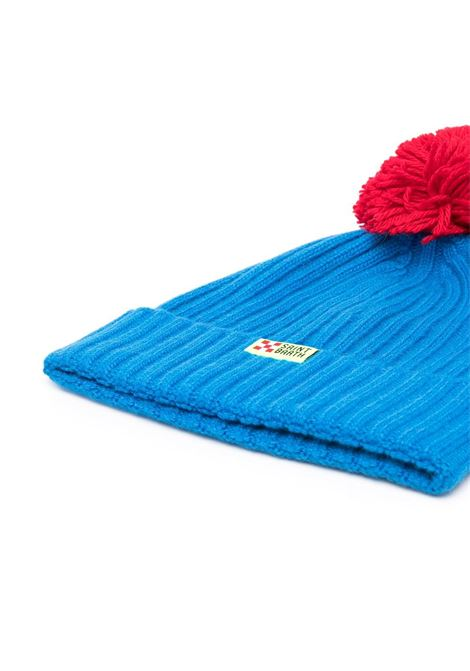 Bombardino wool hat in blue and red details MC2 |  | WENGEN P-EMB BOMBARDINO1741