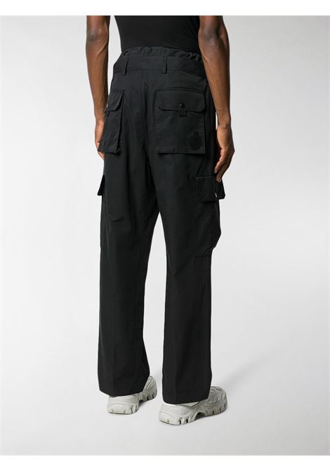Black cotton blend cargo trousers  MONCLER GENIUS |  | 2A702-00-V0135999