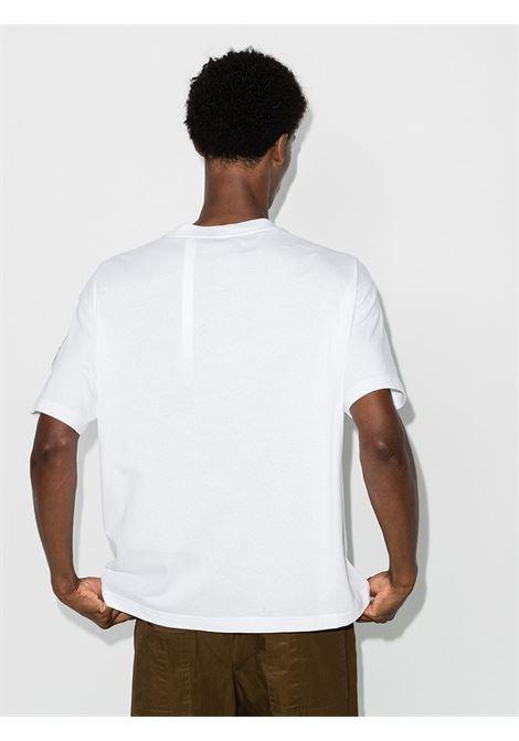 white cotton Moncler Genius x JW Anderson Sylvester t-shirt featuring round neck MONCLER GENIUS |  | 8C702-10-V8194001