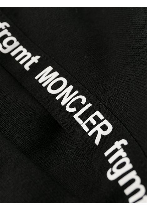 black cotton drawstring Moncler Genius x Fragment Design track-pants MONCLER GENIUS |  | 8H701-00-809F4999