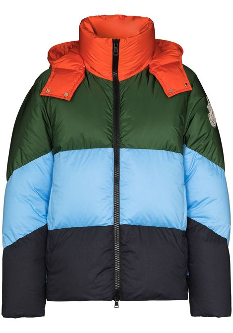 multicolored goose down Bickling panelled puffer jacket from Moncler Genius x JW Anderson  MONCLER GENIUS |  | BICKLING 1A515-00-C0648832