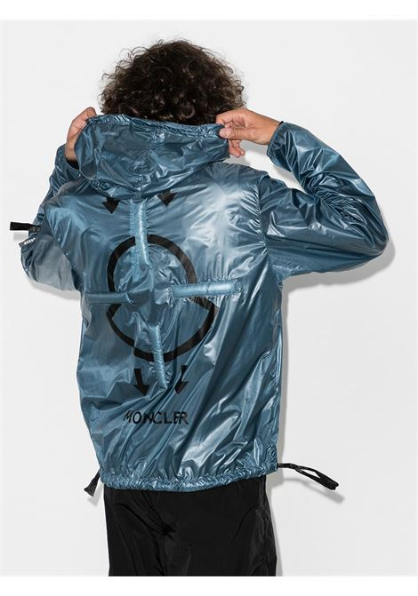 Teal shell Moncler Genius x Craig Green Peeve hooded down jacket  MONCLER GENIUS |  | PEEVE 1A702-10-C0624720