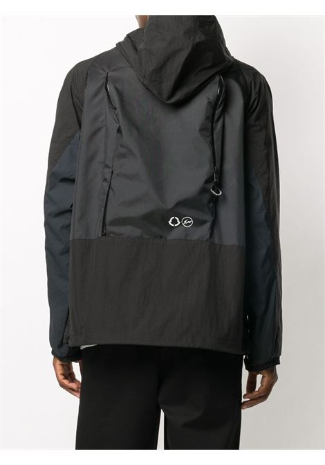 Warren black and blue pannelled hooded jacket  MONCLER GENIUS |  | WARREN 1B700-10-539JJ999