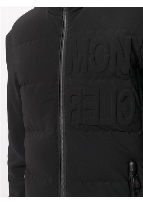 Giubbotto nero con design imbottito, imbottitura in piuma MONCLER GRENOBLE | Giubbini | 8G508-40-80280999