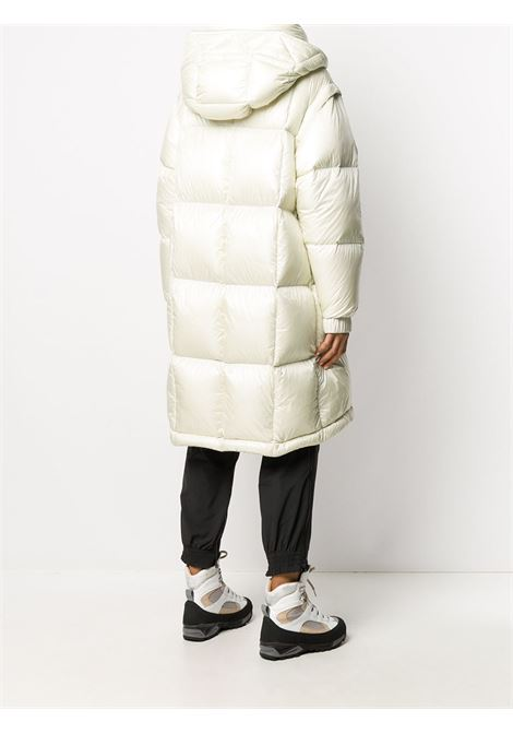 White detachable-sleeve down coat featuring embroidered Moncler Grenoble logo at the sleeve MONCLER GRENOBLE |  | ENTREVES 1C500-00-539YL036