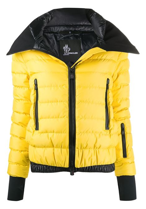 Yellow feather down long-sleeve puffer jacket   MONCLER GRENOBLE |  | VONNE 1A524-00-5399E107
