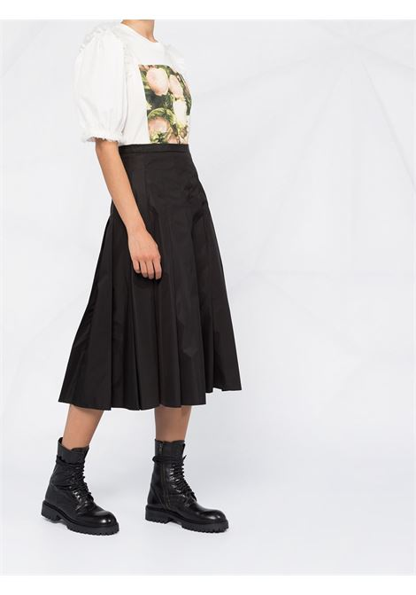 black nylon pleated midi skirt MONCLER |  | 2D712-00-C0068999