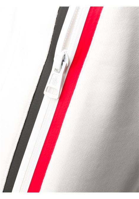 White navy and red cotton side stripe track pants  featuring elasticated waistband MONCLER |  | 8H710-00-V8148038