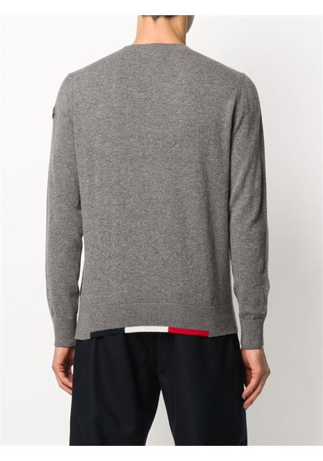 grey virgin wool knitted jumper MONCLER |  | 9C734-00-A9369921