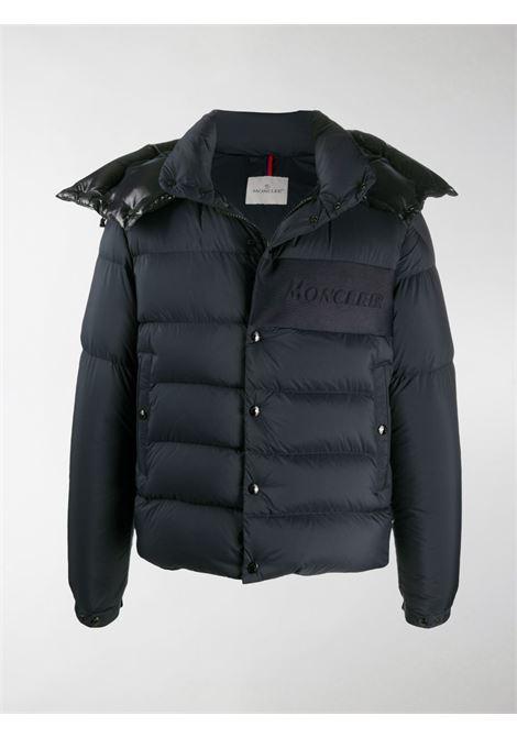 Aubrac nylon feather down padded blue jacket MONCLER |  | AUBRAC 1A544-10-C0573776
