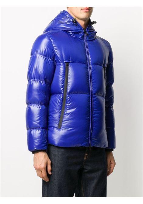 Piumino Baronnies blu lucido con cappuccio con coulisse MONCLER | Piumini | BARONNIES 1A51B-00-68950732