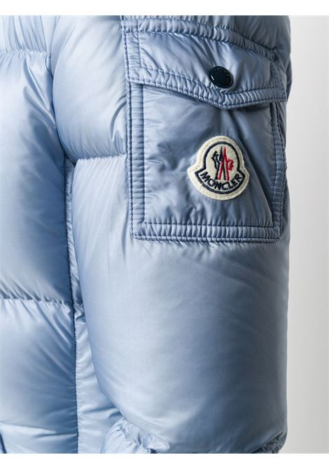 sky blue puffer padded Fourmi hooded jacket MONCLER |  | FOURMI 1A586-00-C0229715