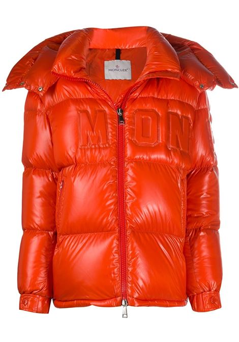 orange feather down hooded Guernic jacket MONCLER |  | GUERNIC 1A52E-40-68991300