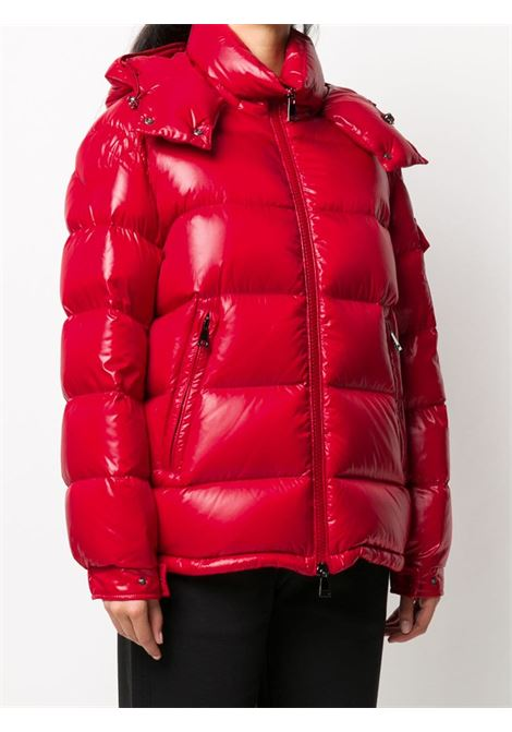 red feather Maire down quilted hooded zipped jacket MONCLER |  | MAIRE 1A576-00-C0064457