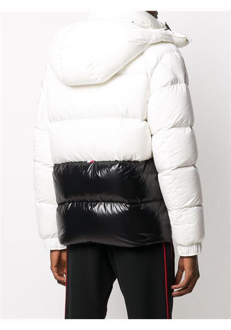 piumino Maures bianco con letting logo Moncler nero MONCLER | Piumini | MAURES 1B544-10-53333042