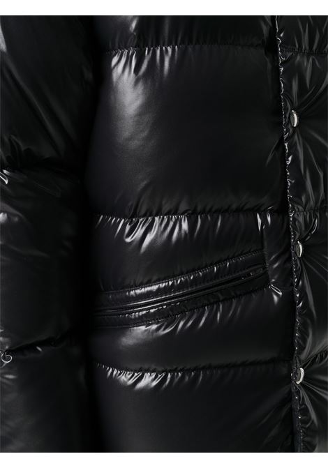 Glossy black nylon laquè down jacket  MONCLER |  | RATEAU 1B530-00-68950999