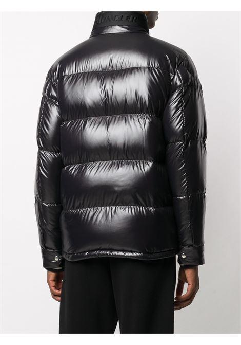 Piumino in nylon laquè nero lucido con collo alto MONCLER | Piumini | RATEAU 1B530-00-68950999