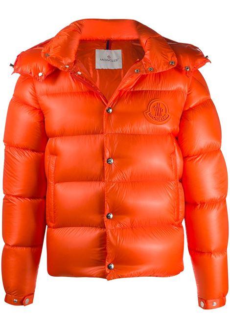Bright orange feather down Tarnos zipped puffer jacket  MONCLER |  | TARNOS 1A51R-00-539WF326