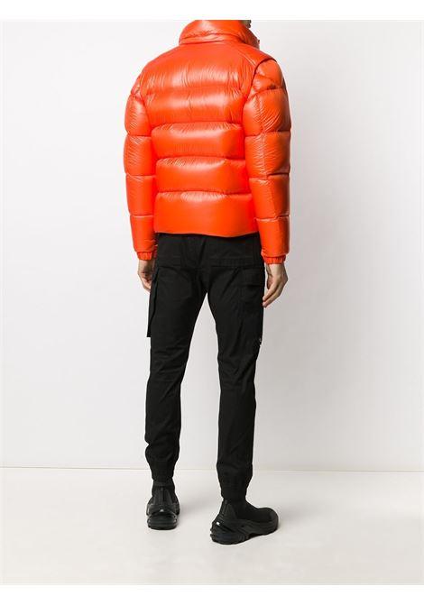 Piumino Tarnos in piuma d'oca arancione brillante con zip e trapuntato MONCLER | Piumini | TARNOS 1A51R-00-539WF326