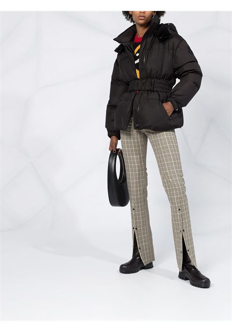 Tiac black quilted jacket with front cotton belt MONCLER |  | TIAC 1A51V-00-C0063999