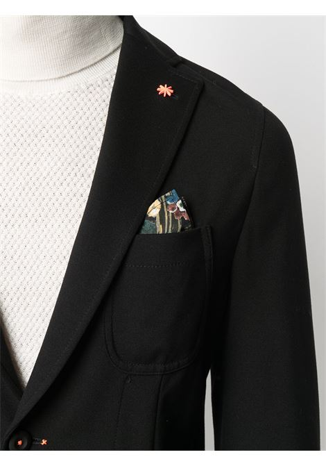 Black single-breasted blazer featuring notched lapels Manuel Ritz |  | 2932G2571MA-20369499