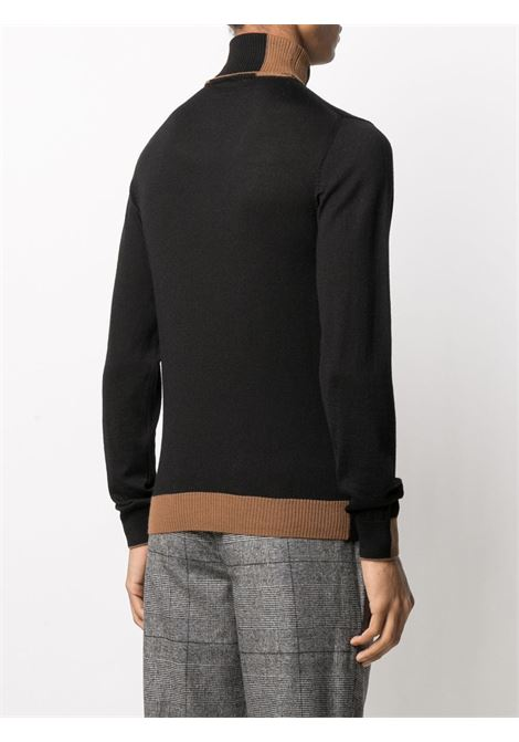 Black and camel brown featuring roll neck jumper Manuel Ritz |  | 2932M503-20382599