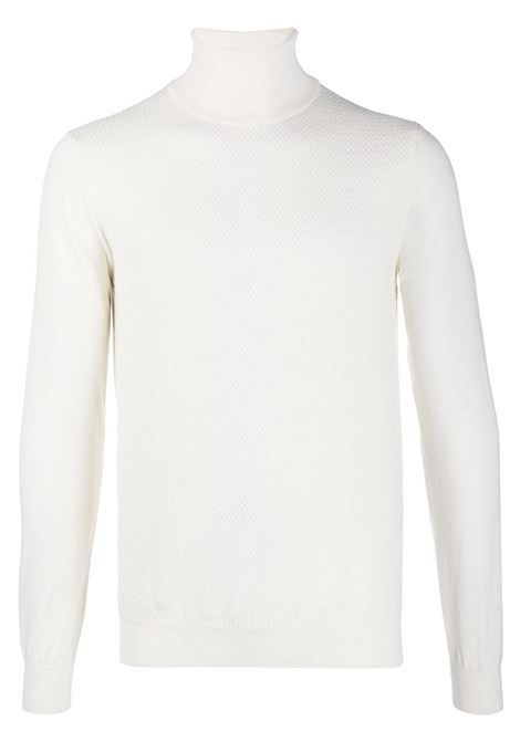 White virgin wool roll neck jumper featuring textured finish Manuel Ritz |  | 2932M521-20383402