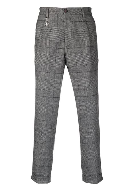 grey trousers featuring Prince of Wales check pattern Manuel Ritz |  | 2932P1658-20356497