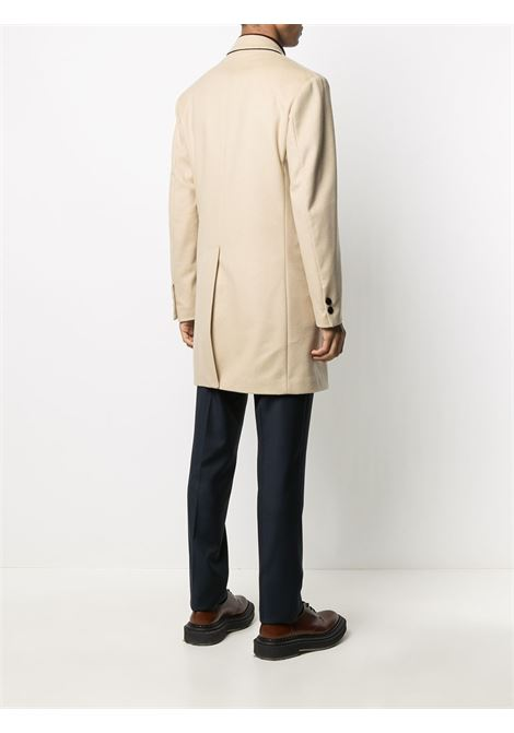 Beige virgin wool and cashmere Gregorio double-breasted woolcoat  PALTO' |  | GREGORIO20W-CASH521